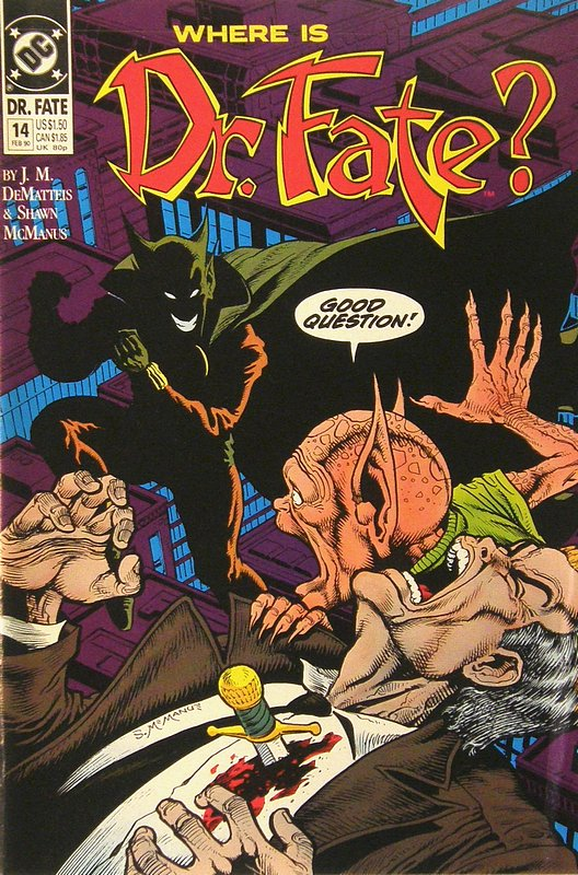 Cover of Doctor Fate (Vol 1) #14. One of 250,000 Vintage American Comics on sale from Krypton!