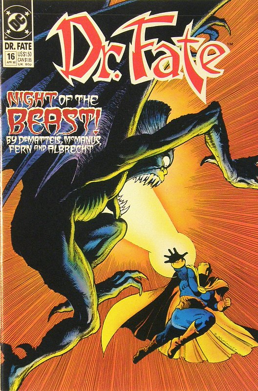 Cover of Doctor Fate (Vol 1) #16. One of 250,000 Vintage American Comics on sale from Krypton!
