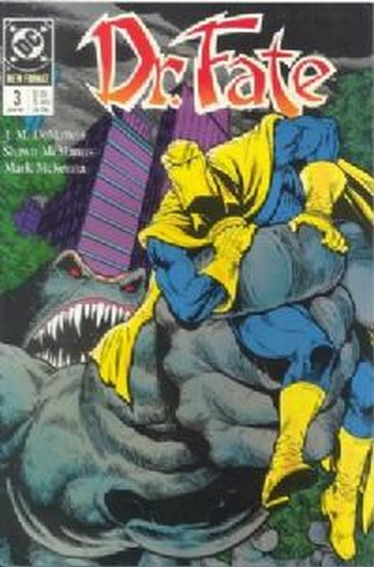 Cover of Doctor Fate (Vol 1) #3. One of 250,000 Vintage American Comics on sale from Krypton!