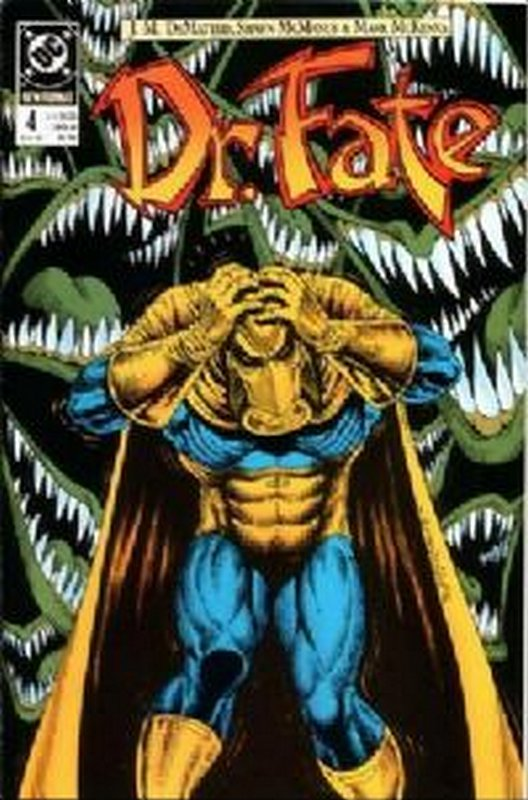 Cover of Doctor Fate (Vol 1) #4. One of 250,000 Vintage American Comics on sale from Krypton!
