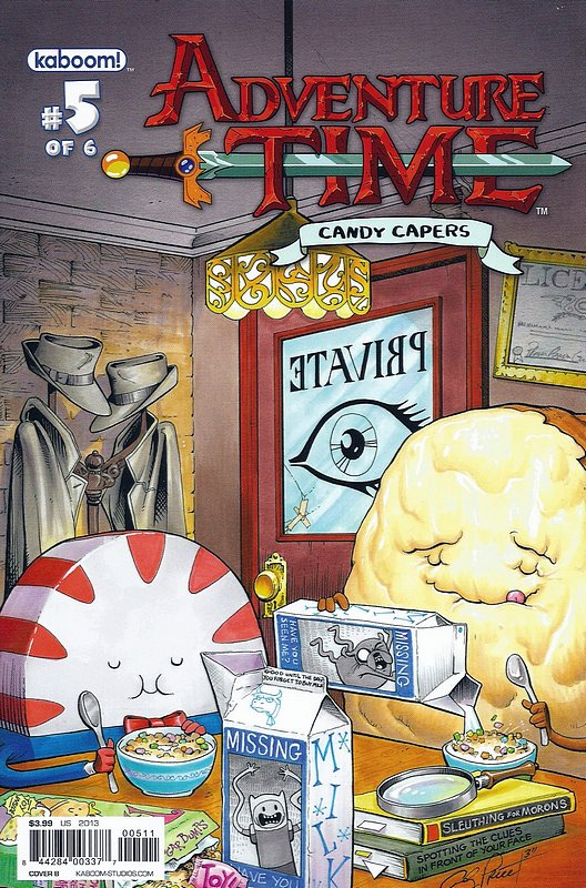 Cover of Adventure Time: Candy Capers (2013 Ltd) #5. One of 250,000 Vintage American Comics on sale from Krypton!