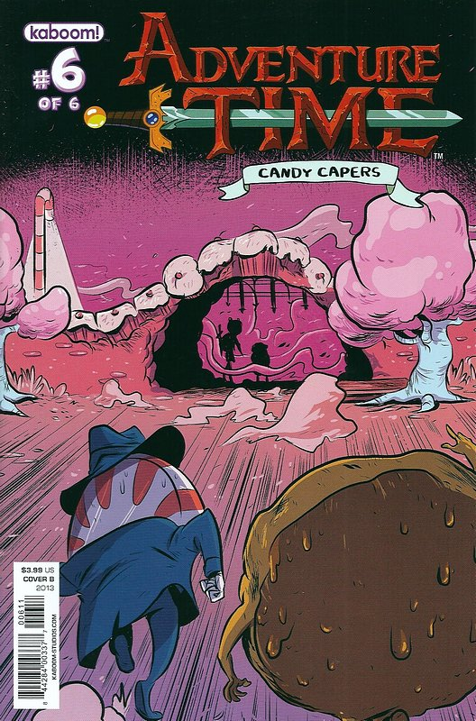 Cover of Adventure Time: Candy Capers (2013 Ltd) #6. One of 250,000 Vintage American Comics on sale from Krypton!