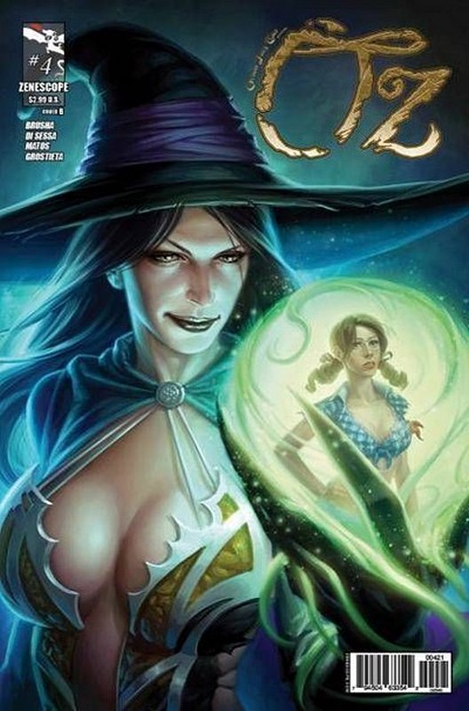 Cover of Grimm Fairy Tales: Oz (2013 Ltd) #4. One of 250,000 Vintage American Comics on sale from Krypton!
