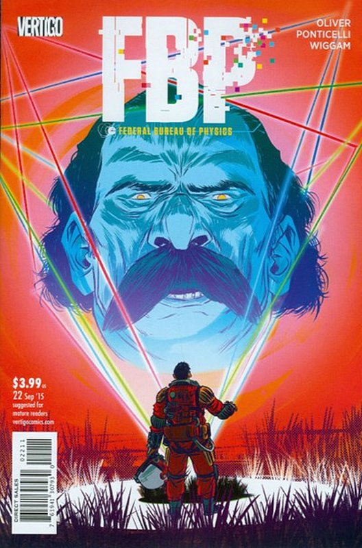 Cover of FBP - Federal Bureau of Physics (Collider) (Vol 1) #22. One of 250,000 Vintage American Comics on sale from Krypton!