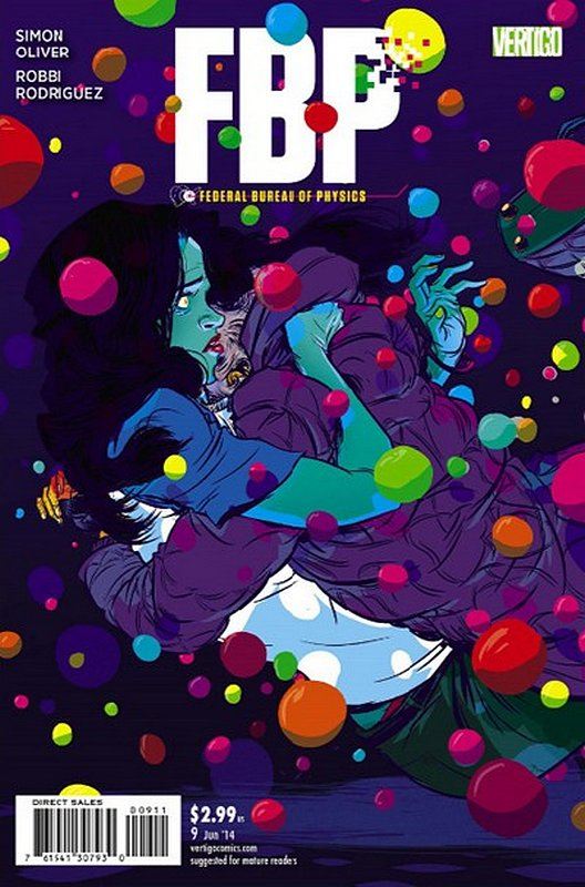 Cover of FBP - Federal Bureau of Physics (Collider) (Vol 1) #9. One of 250,000 Vintage American Comics on sale from Krypton!