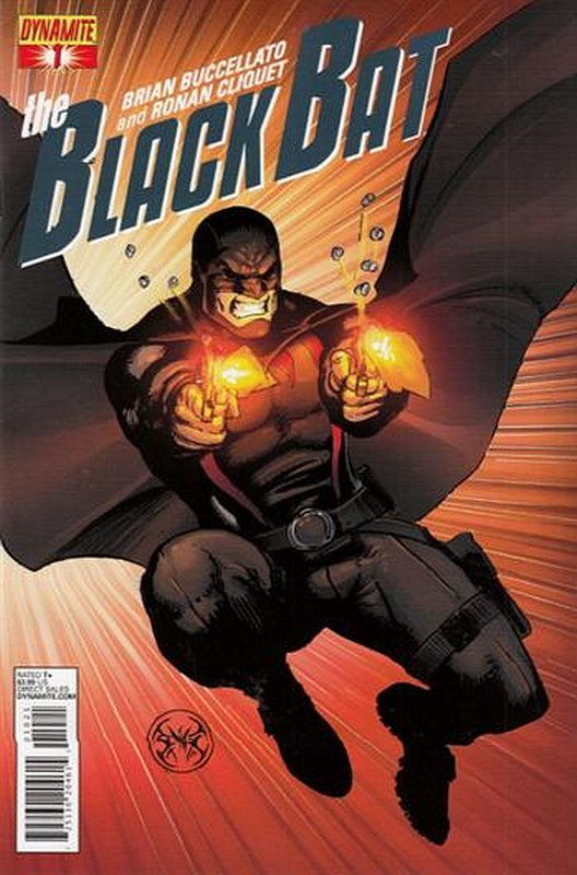 Cover of Black Bat (Dynamite Vol 1) #1. One of 250,000 Vintage American Comics on sale from Krypton!