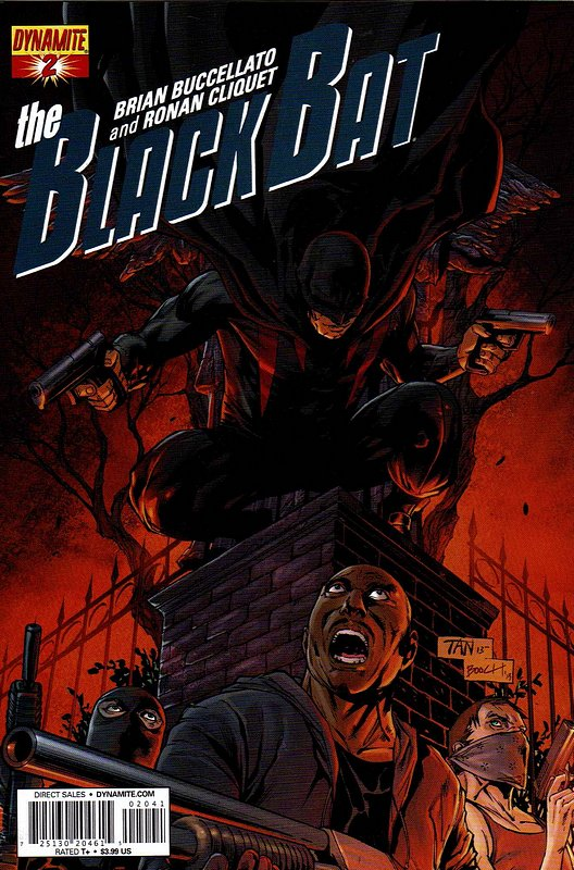 Cover of Black Bat (Dynamite Vol 1) #2. One of 250,000 Vintage American Comics on sale from Krypton!