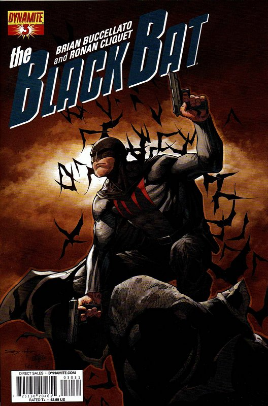 Cover of Black Bat (Dynamite Vol 1) #3. One of 250,000 Vintage American Comics on sale from Krypton!