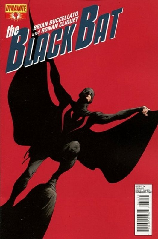 Cover of Black Bat (Dynamite Vol 1) #4. One of 250,000 Vintage American Comics on sale from Krypton!