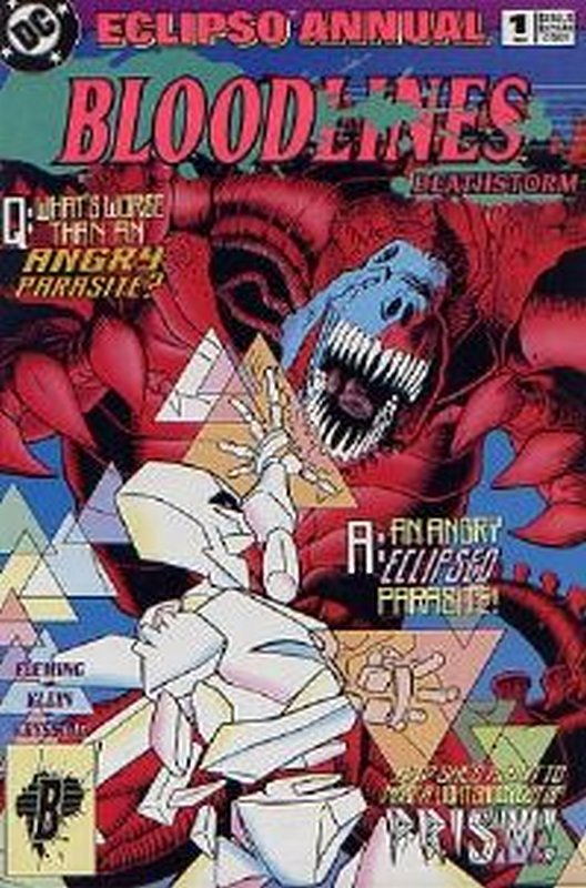 Cover of Eclipso Annual (1993 One Shot) #1. One of 250,000 Vintage American Comics on sale from Krypton!