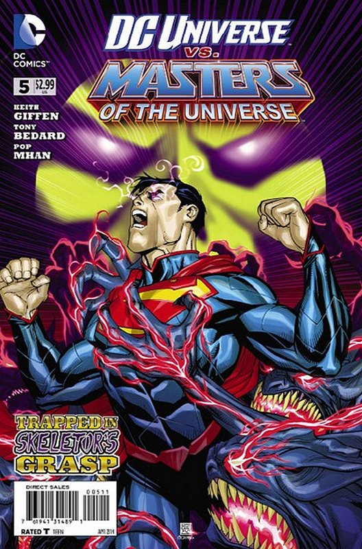 Cover of DC Universe vs Masters of the Universe (2013 Ltd) #5. One of 250,000 Vintage American Comics on sale from Krypton!