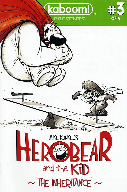 Cover of Herobear & The kid: Inheritance (2013 Ltd) #3. One of 250,000 Vintage American Comics on sale from Krypton!