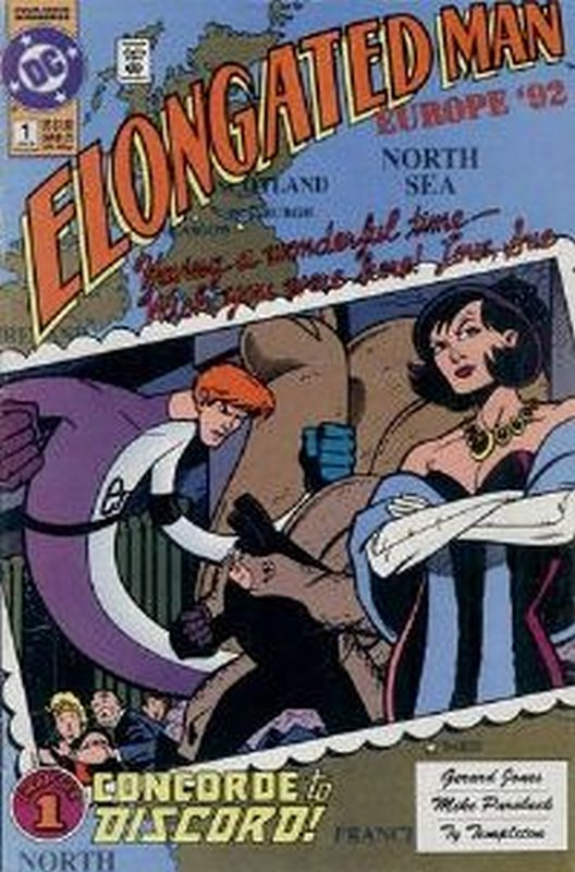 Cover of Elongated Man (1991 Ltd) #1. One of 250,000 Vintage American Comics on sale from Krypton!