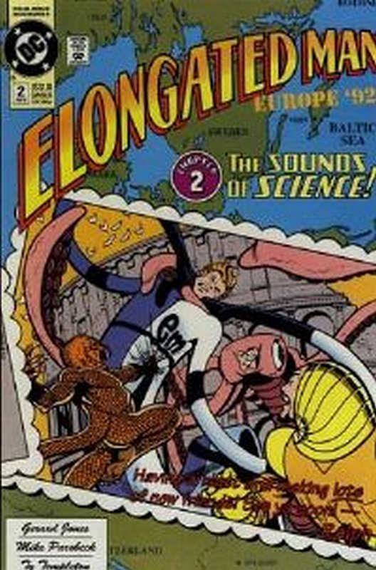 Cover of Elongated Man (1991 Ltd) #2. One of 250,000 Vintage American Comics on sale from Krypton!