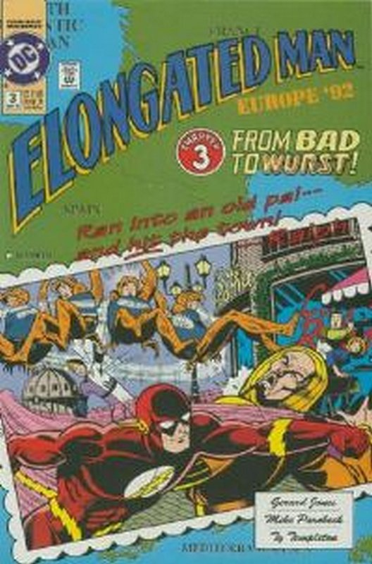 Cover of Elongated Man (1991 Ltd) #3. One of 250,000 Vintage American Comics on sale from Krypton!