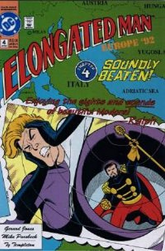 Cover of Elongated Man (1991 Ltd) #4. One of 250,000 Vintage American Comics on sale from Krypton!