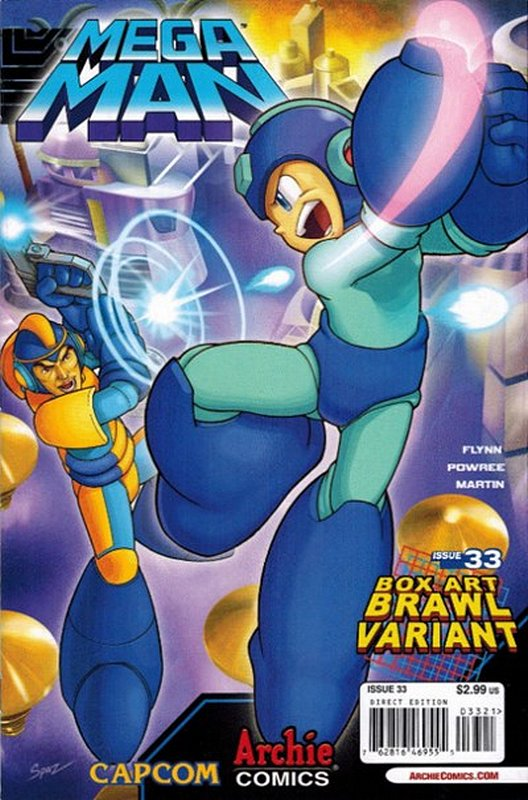 Cover of Mega Man (Archie Vol 1) #33. One of 250,000 Vintage American Comics on sale from Krypton!