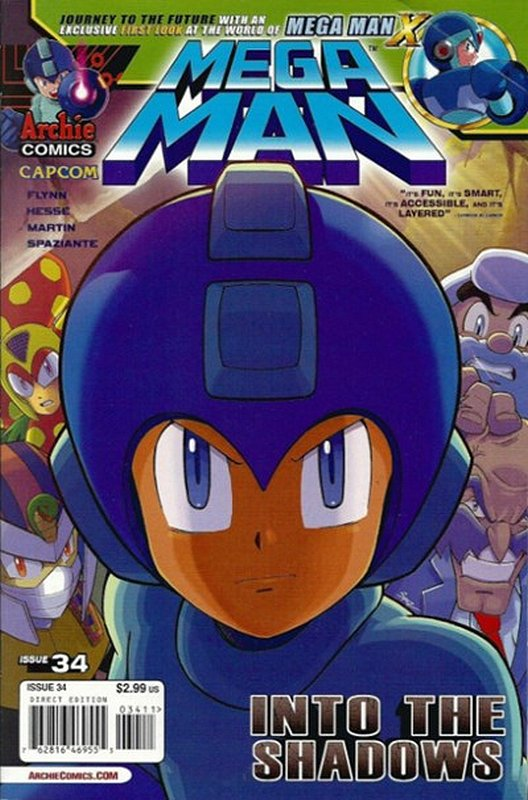 Cover of Mega Man (Archie Vol 1) #34. One of 250,000 Vintage American Comics on sale from Krypton!