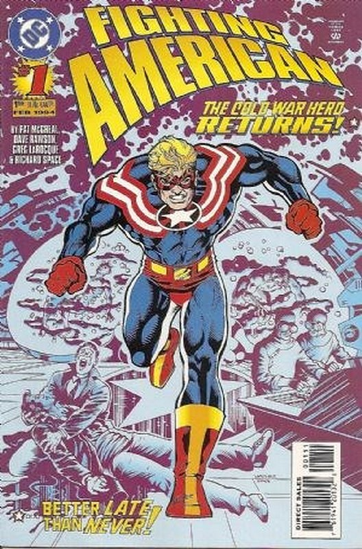 Cover of Fighting American (1994 Ltd) #1. One of 250,000 Vintage American Comics on sale from Krypton!