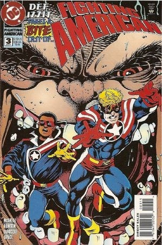 Cover of Fighting American (1994 Ltd) #3. One of 250,000 Vintage American Comics on sale from Krypton!