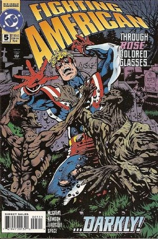 Cover of Fighting American (1994 Ltd) #5. One of 250,000 Vintage American Comics on sale from Krypton!