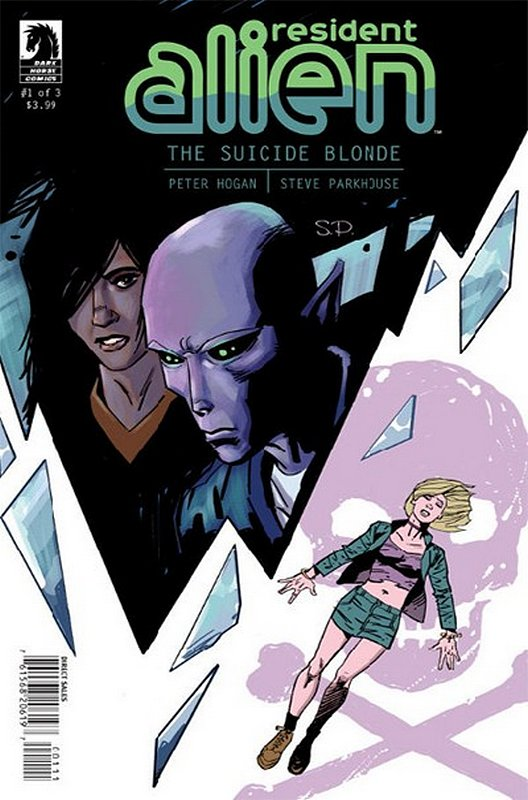 Cover of Resident Alien: Suicide Blond (2013 Ltd) #1. One of 250,000 Vintage American Comics on sale from Krypton!