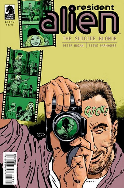 Cover of Resident Alien: Suicide Blond (2013 Ltd) #3. One of 250,000 Vintage American Comics on sale from Krypton!