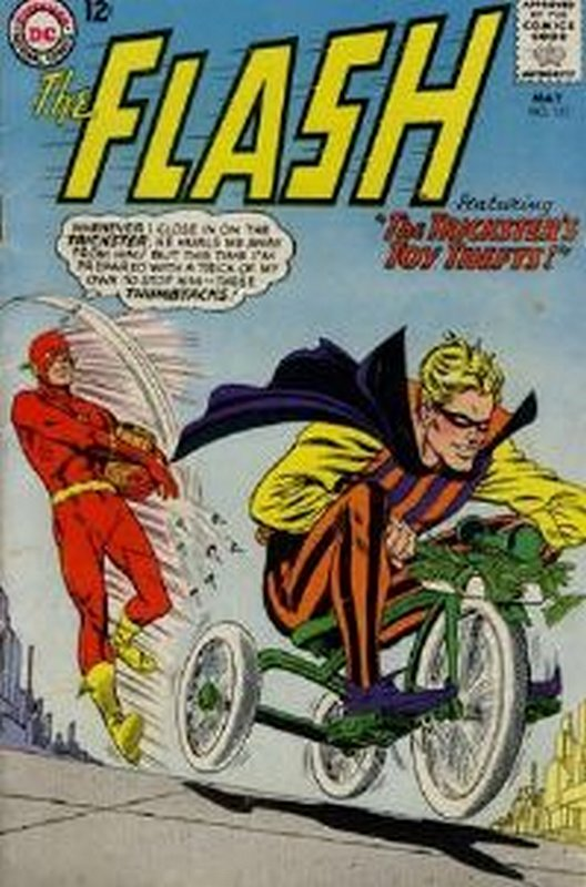 Cover of Flash (Vol 1) #152. One of 250,000 Vintage American Comics on sale from Krypton!