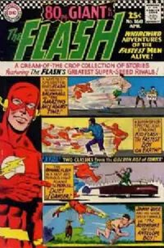 Cover of Flash (Vol 1) #160. One of 250,000 Vintage American Comics on sale from Krypton!