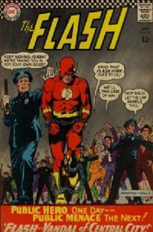 Cover of Flash (Vol 1) #164. One of 250,000 Vintage American Comics on sale from Krypton!