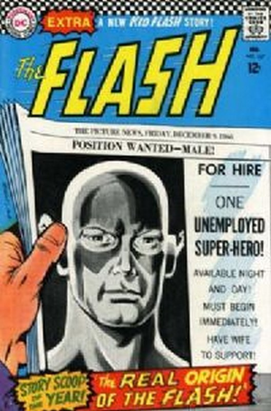 Cover of Flash (Vol 1) #167. One of 250,000 Vintage American Comics on sale from Krypton!