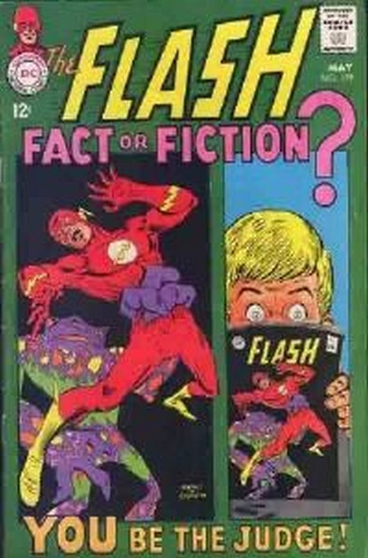 Cover of Flash (Vol 1) #179. One of 250,000 Vintage American Comics on sale from Krypton!