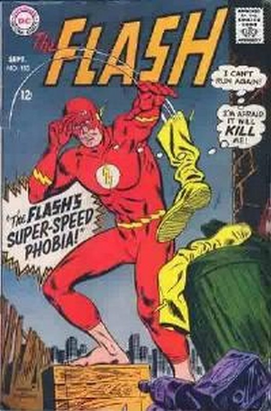 Cover of Flash (Vol 1) #182. One of 250,000 Vintage American Comics on sale from Krypton!