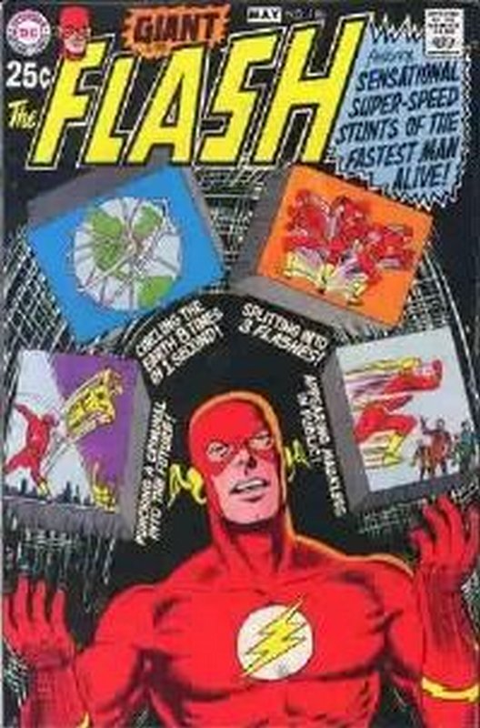 Cover of Flash (Vol 1) #196. One of 250,000 Vintage American Comics on sale from Krypton!