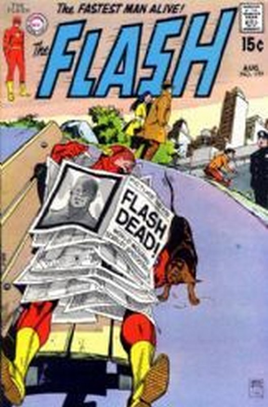Cover of Flash (Vol 1) #199. One of 250,000 Vintage American Comics on sale from Krypton!