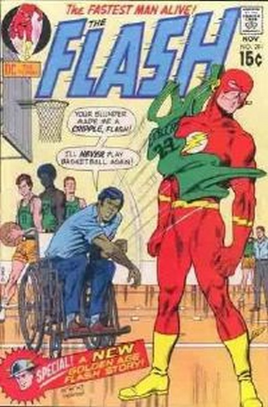 Cover of Flash (Vol 1) #201. One of 250,000 Vintage American Comics on sale from Krypton!