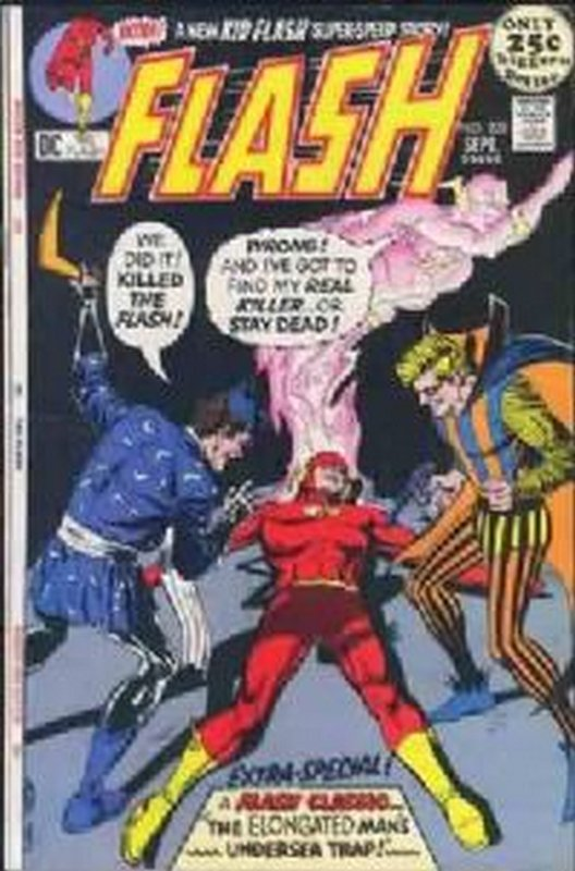 Cover of Flash (Vol 1) #209. One of 250,000 Vintage American Comics on sale from Krypton!