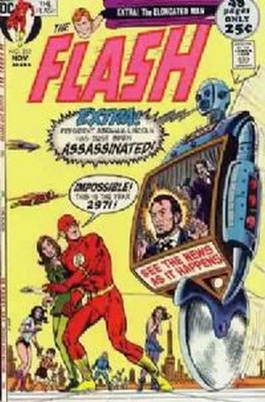 Cover of Flash (Vol 1) #210. One of 250,000 Vintage American Comics on sale from Krypton!