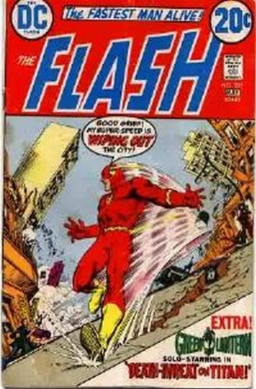 Cover of Flash (Vol 1) #221. One of 250,000 Vintage American Comics on sale from Krypton!