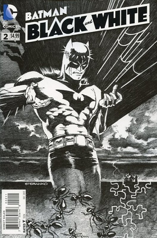 Cover of Batman: Black & White (2013 Ltd) #2. One of 250,000 Vintage American Comics on sale from Krypton!