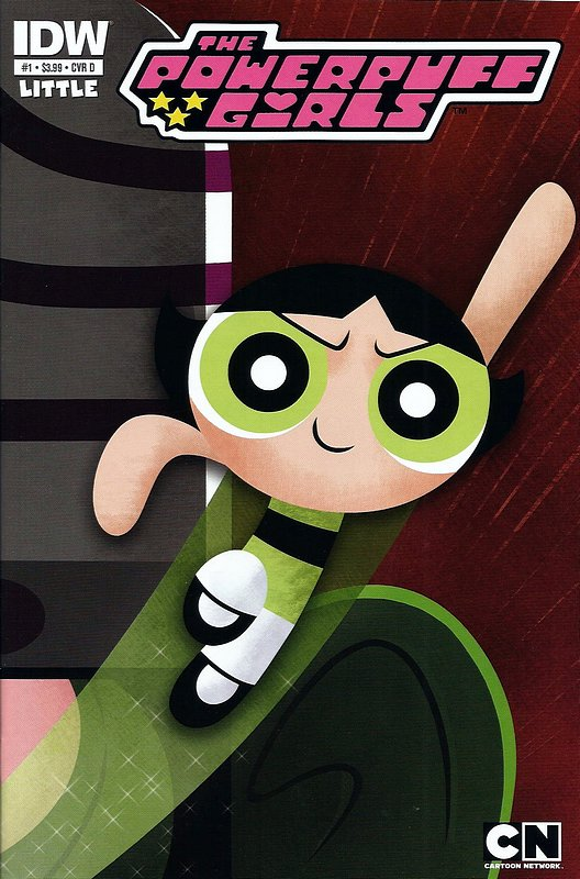 Cover of Powerpuff Girls (2013 Ltd) #1. One of 250,000 Vintage American Comics on sale from Krypton!