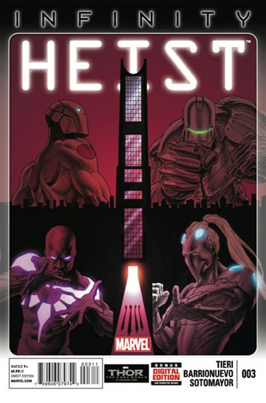Cover of Infinity Heist (2013 Ltd) #3. One of 250,000 Vintage American Comics on sale from Krypton!