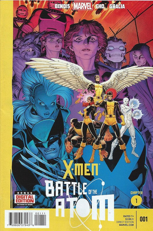 Cover of X-Men: Battle of the Atom (2013 Ltd) #1. One of 250,000 Vintage American Comics on sale from Krypton!