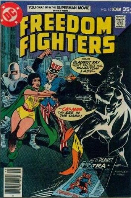 Cover of Freedom Fighters (Vol 1) #10. One of 250,000 Vintage American Comics on sale from Krypton!