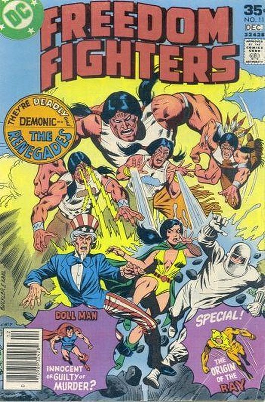Cover of Freedom Fighters (Vol 1) #11. One of 250,000 Vintage American Comics on sale from Krypton!