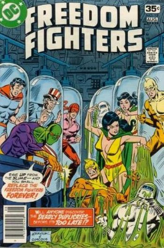 Cover of Freedom Fighters (Vol 1) #15. One of 250,000 Vintage American Comics on sale from Krypton!