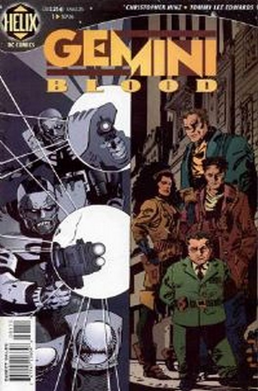 Cover of Gemini Blood (Vol 1) #1. One of 250,000 Vintage American Comics on sale from Krypton!