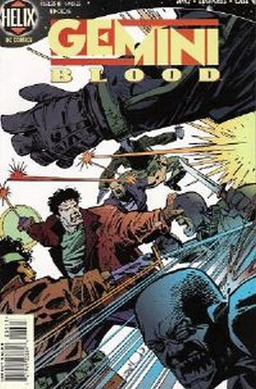 Cover of Gemini Blood (Vol 1) #4. One of 250,000 Vintage American Comics on sale from Krypton!
