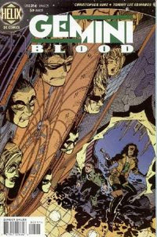 Cover of Gemini Blood (Vol 1) #5. One of 250,000 Vintage American Comics on sale from Krypton!
