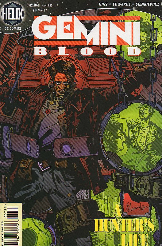 Cover of Gemini Blood (Vol 1) #7. One of 250,000 Vintage American Comics on sale from Krypton!